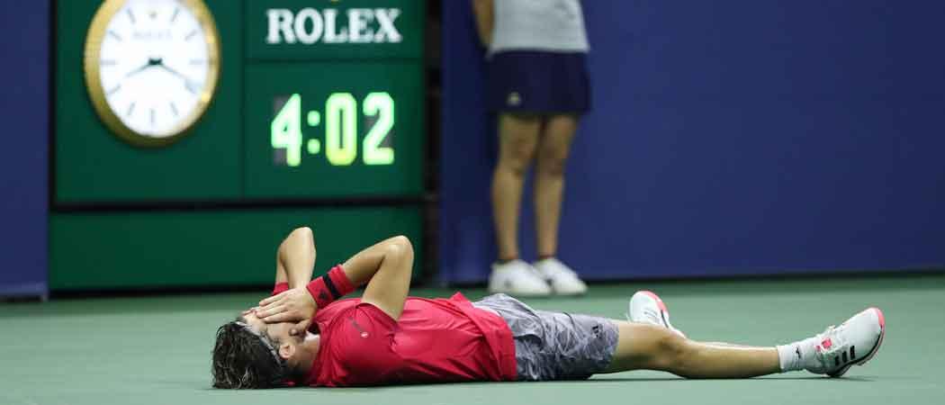 WATCH: Dominic Thiem Wins U.S. Open In Thrilling Fifth-Set Tie Breaker