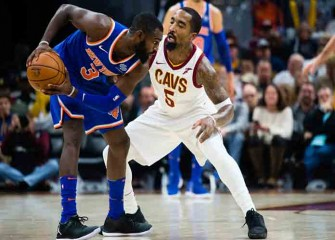 Watch: Tim Hardaway Jr., Kristaps Porzingis Lift Knicks To 114-95 Win Vs. Cavs