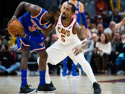 Watch: Tim Hardaway Jr., Kristaps Porzingis Lift Knicks To 114-95 Win Vs. Cavs