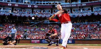 Cincinnati's Todd Frazier Wins Home Run Derby