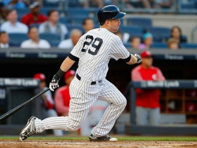 Watch: Yankees' Todd Frazier Hits Into Triple Play In First Home At-Bat