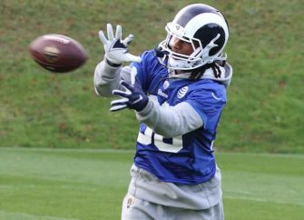 Rams' Sean McVay Says Todd Gurley Will Be Good To Go Despite Knee Problems