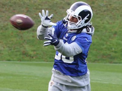 RB Todd Gurley Signs 1-Year, $6 Million Deal With Atlanta Falcons
