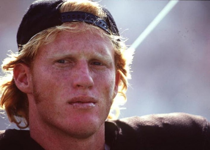 Todd Marinovich arrested naked with drugs in strangers yard