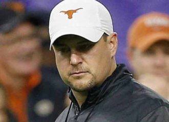 Texas Head Coach Tom Herman Discusses 'Double Standard' For Black Student-Athletes