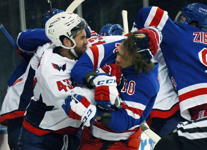 NHL Announces Fine After Tom Wilson Sucker Punched Two Rangers, Players Upset At Lack Of Suspension