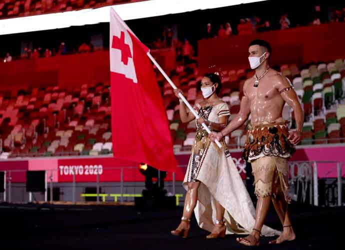 Tonga's Iconic Shirtless Flag Bearer Pita Taufatofua Returns