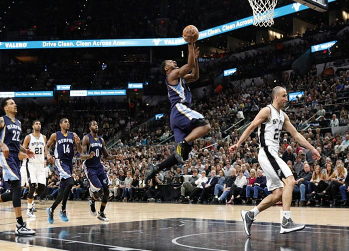 Grizzlies Fall To Spurs Again In Playoff Game 2
