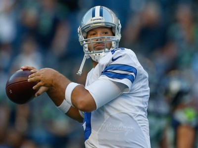 Tony Romo Fine Despite Leaving Cowboys' 27-17 Preseason Loss To Seahawks Early With Back Injury