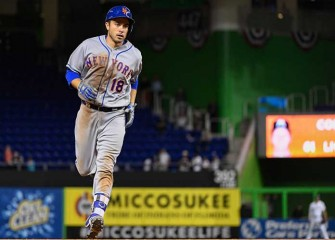 Travis d'Arnaud Homers In 16th, Mets Top Marlins 9-8 For Fifth Straight Win: Highlights