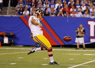 Redskins Punter Tress Way's Mother Burns Steelers Terrible Towel To Support Son