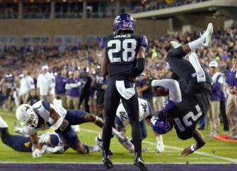 TCU QB Trevone Boykin Flips to Get TD vs. West Virginia