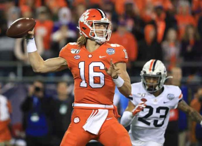Clemson's Trevor Lawrence & Girlfriend Marissa Mowry's Coronavirus Charity Allowed To Resume Following NCAA Violation Controversy