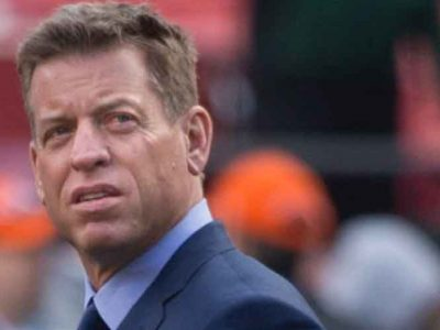 Troy Aikman Slams Doug Gottlieb For Mocking Andrew Luck's Retirement