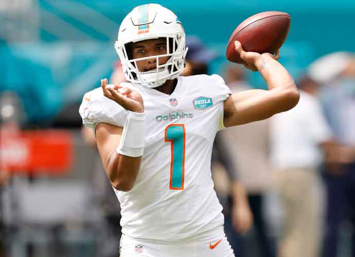Dolphins Name Tua Tagovailoa As Starter After Debut Replacing Veteran Ryan Fitzpatrick
