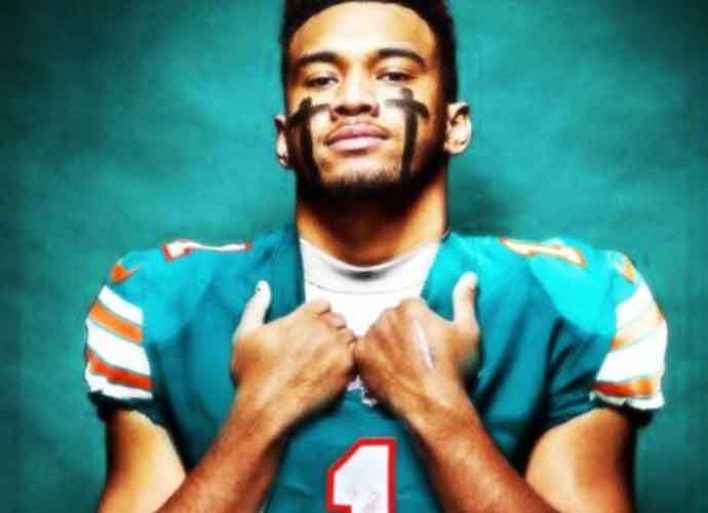 Tua Tagovailoa Will Wear Number 1 When He Steps On The Field For Miami Dolphins