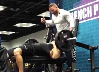 Punter Michael Turk Shows Off At NFL Combine With 25 Bench Press Reps [Video]