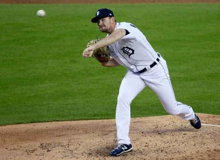 Detroit Tiger's Relief Pitcher Tyler Alexander Ties Record With 9 Consecutive Strikeouts