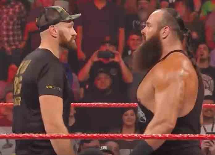 Tyson Fury Gets Into First WWE Brawl Against Braun Strowman [VIDEO]