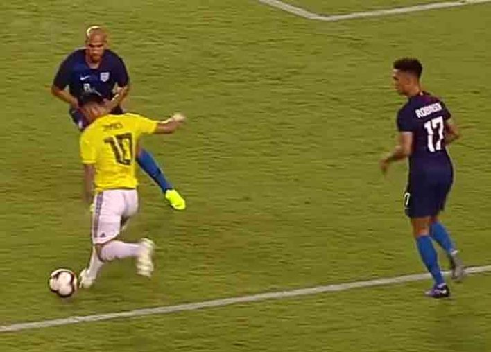 Colombia Defeats US Men's National Team 4-2 In Friendly