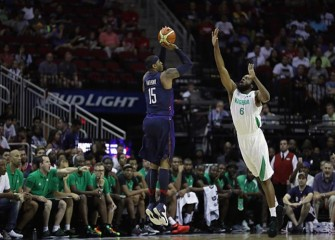 USA Men's Basketball Rout Nigeria 110-66 To Cap Undefeated Exhibition Run