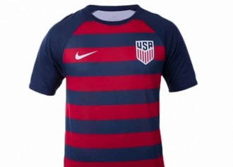 Get The Gear: Men's Nike USA Soccer Match Tee In Midnight Navy