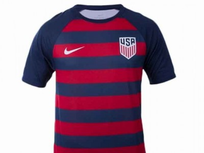 Get The Gear: Men's Nike USA Soccer Match Tee In Midnight Navy