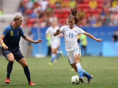 U.S. Women's Soccer Star Alex Morgan Signs With French Club Lyon