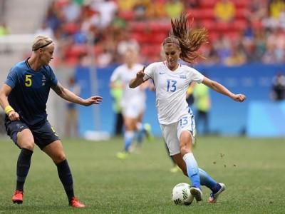 U.S. Women's Soccer Star Alex Morgan Signs With French Club Lyon