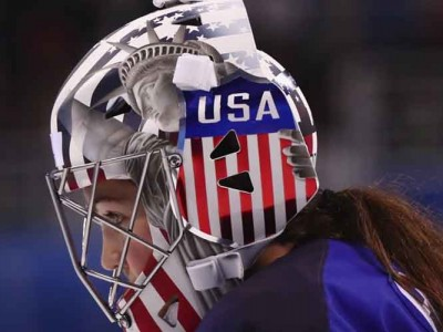 Women's U.S. Hockey Goalies At Winter Olympics Do Not Have To Remove Statue Of Liberty From Masks, Says IOC