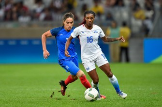 U.S. Women's Soccer Beat France 1-0 In First-Round Olympic Game