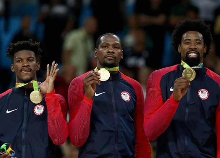 U.S. Men's Basketball Rout Serbia 96-66 In Gold Medal Game For Third Straight Olympic Title