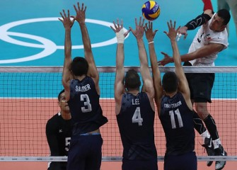 U.S. Men's Volleyball Beat Mexico In Rio To Reach Quarterfinals