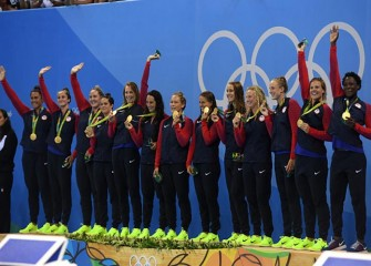 U.S. Women Beat Italy 12-5 For Second Straight Olympic Water Polo Title