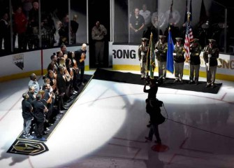 Vegas Golden Knights Sweep L.A. Kings In First Round Of Stanley Cup Playoffs With 1-0 Win In Game 4 [VIDEO]
