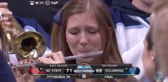 Jimmy Fallon Interviews Villanova Crying Piccolo Girl Roxanne Chalifoux