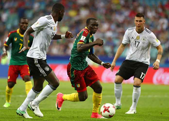 Watch: Germany Beats Cameroon 3-1 To Reach Confederations Cup Semi-Final After Video Replay Mess