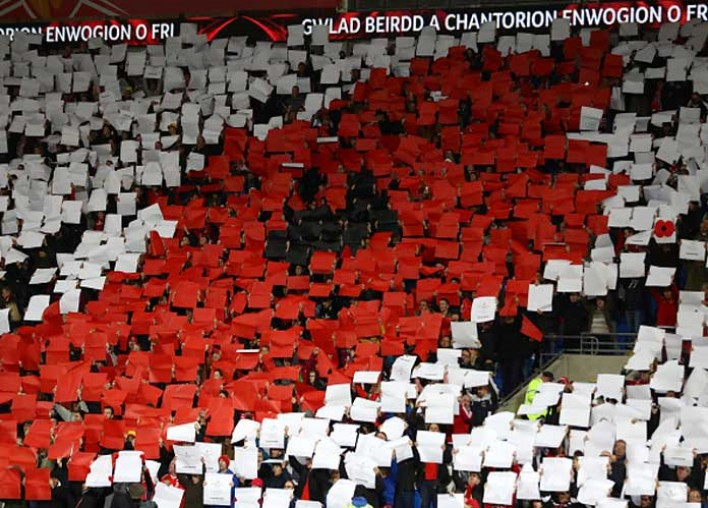 FIFA Fines England, Scotland, Wales And Northern Ireland Over Poppies