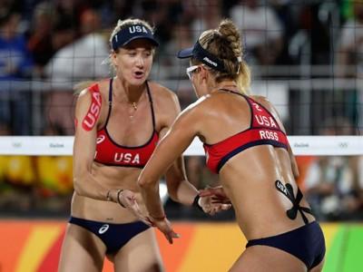 Kerri Walsh Jennings, April Ross Fall To Brazil In Olympic Semifinal