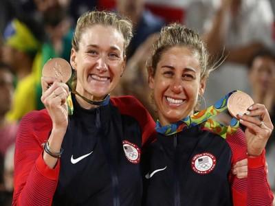 Kerri Walsh Jennings, April Ross Win Bronze After Beating Brazil