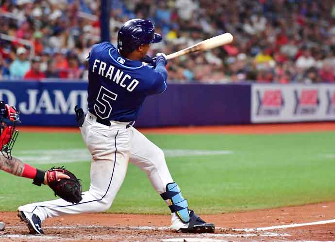 Rays Top Prospect Wander Franco Homers In MLB Debut