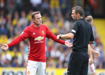 Wayne Rooney, Manchester United Fall 3-1 To Watford As Jose Mourinho Blames Luke Shaw