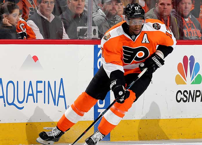 Wayne Simmonds Scores Twice As Flyers Beat Panthers 3-2 In OT For Sixth Straight Win