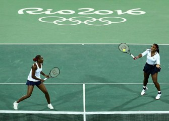 Serena And Venus Williams Fall In First-Ever First-Round Olympics Doubles Loss