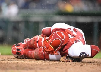 Watch: Rays Catcher Wilson Ramos Hit In Head By Broken Bat In Loss To Orioles