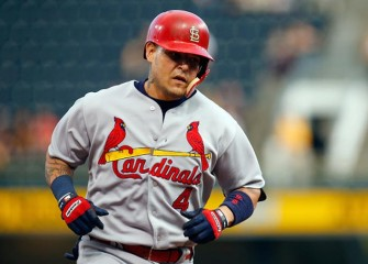 Cardinals' Yadier Molina Out At Least Four Weeks, Will Have Surgery After Taking Ball To Crotch
