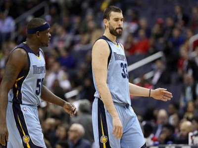 Marc Gasol, Zach Randolph Propel Grizzlies Past Kawhi Leonard-Less Spurs 89-74