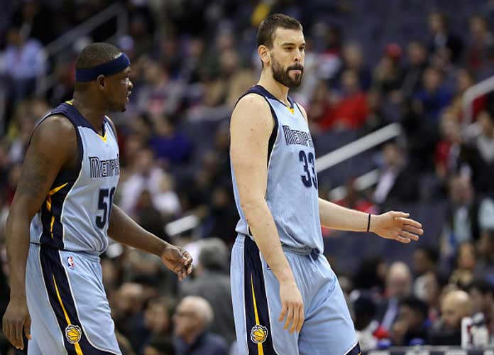 Marc Gasol, Zach Randolph Propel Grizzlies Past Kawhi Leonard-Less Spurs 89-74