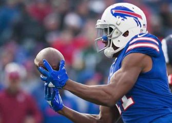 Bills' Zay Jones Arrested After Alleged Bloody, Naked Fight With Brother