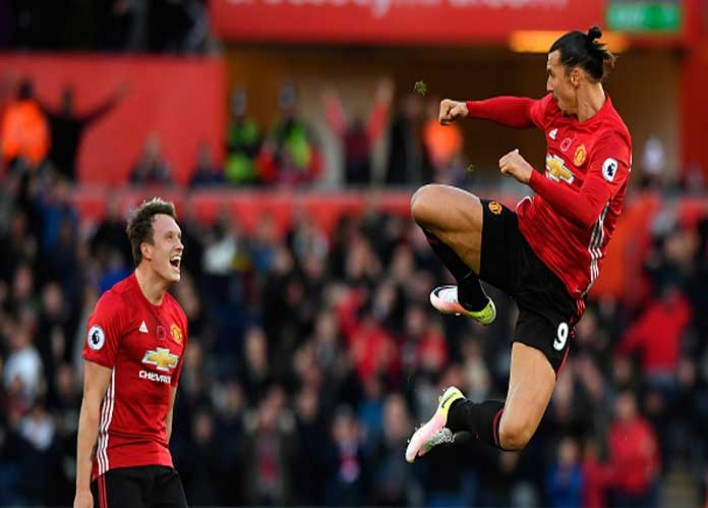 United's Zlatan Ibrahimovic To Serve 3-Game Ban After Violent Conduct Charge